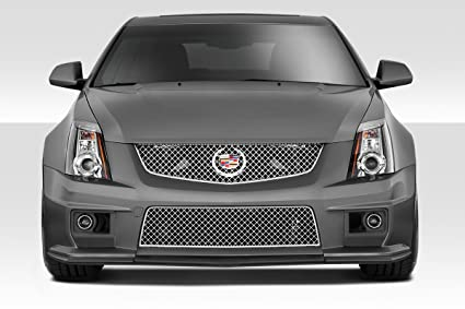 Duraflex Replacement for 2009-2014 Cadillac CTS-V G2 Front Splitter - 3 Piece