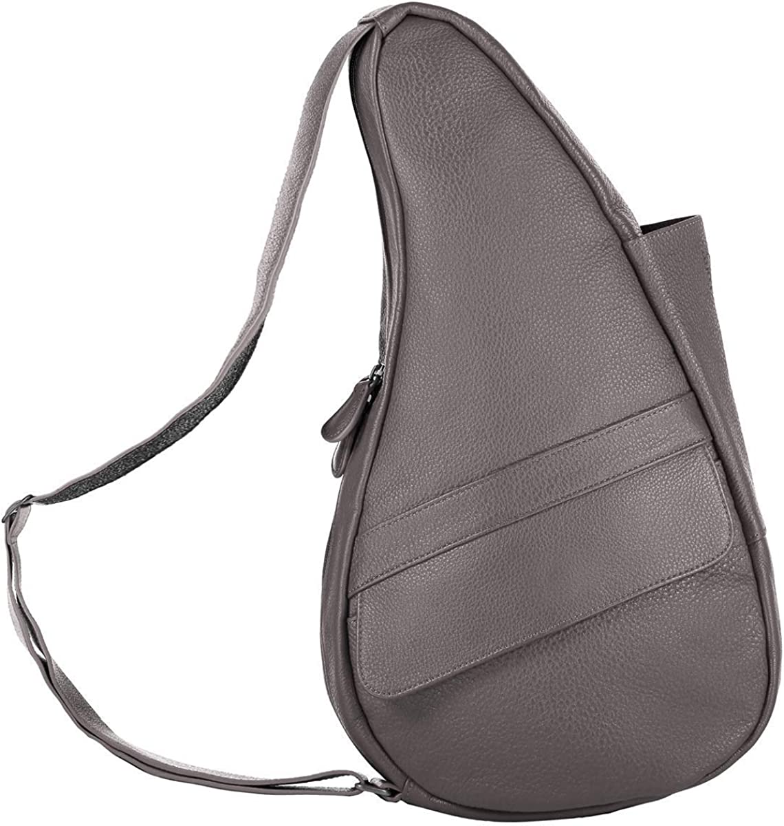 AmeriBag Classic Healthy Back Bag tote Leather Small Grey