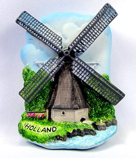 Souvenir Collectibles molino de viento Holanda a mano para modelar ...