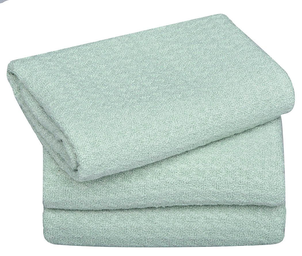 Sinland Microfiber Dish Drying Towels Dish Towels Waffle Weave Kitchen Towels 16 Inch X 24 Inch 3 Pack Mint Green