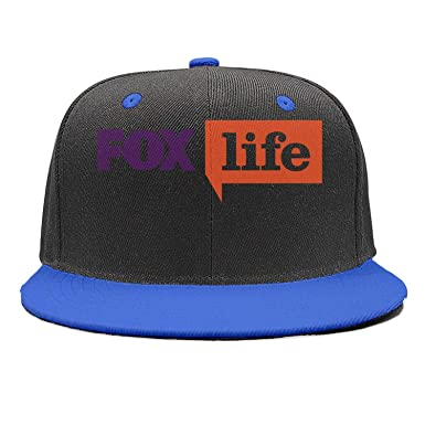 Fox Life - Gorra de ala Plana con Logotipo para Hombre y Mujer ...