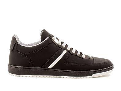 40438c083f1a Dior Homme 3SN141WUI Noir Cuir Baskets  Amazon.fr  Chaussures et Sacs