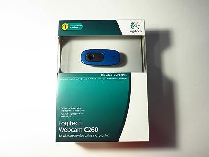 Logitech C260 Webcam XP
