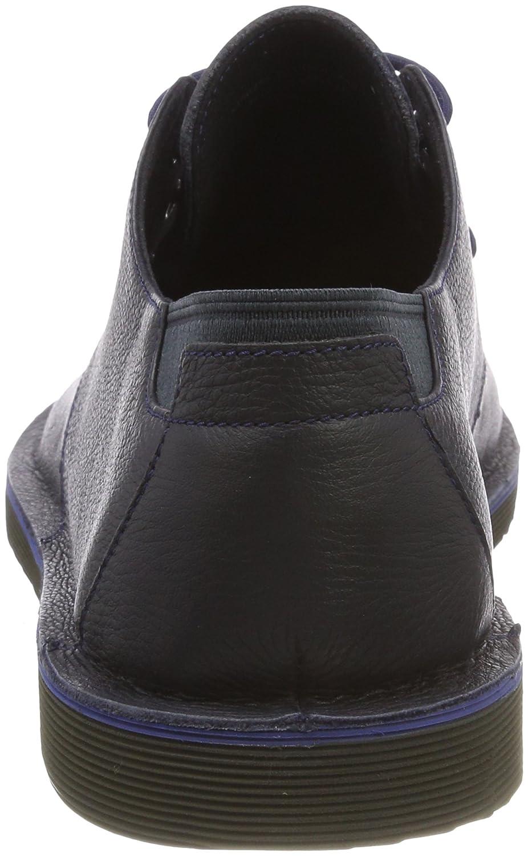 Camper Morrys, Zapatos de Cordones Oxford para Hombre, Azul (Dark Blue 400), 44 EU