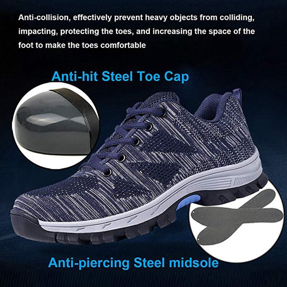 Männer Schutzschuhe Stahlkappe Anti Piercing Arbeitsschutzschuhe