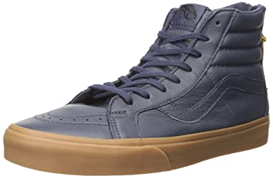 42c5af353240a5 Vans Sk8-Hi Reissue Zip Hiking Navy Gum Ankle-High Skateboarding Shoe -