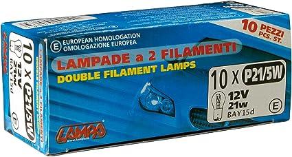 Lampa Glühlampe P21 5w 12v 21 5w 10er Pack Auto