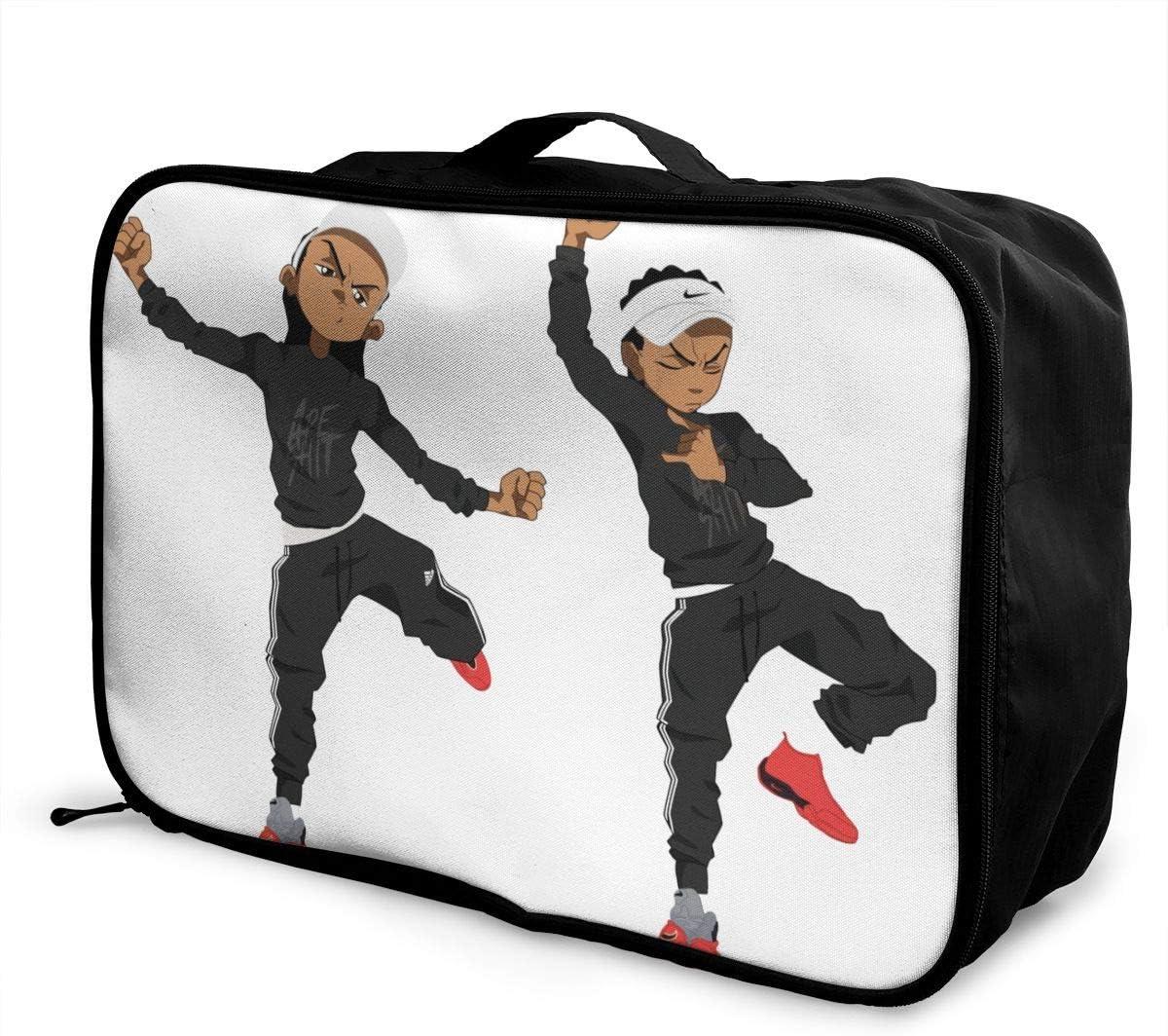 The Boondocks Lightweight Large Capacity Portable Luggage Bag Hanging Organizer Bag Makeup Bag