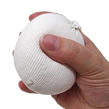 GripSkinz - Bolsa de balón de Tiza para Gimnasia, Escalada, Levantamiento de Pesas, 100% carbonato de magnesio (1 x 60 g): Amazon.es: Deportes y aire libre