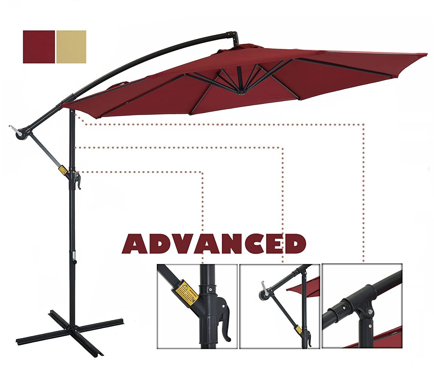 The Best Patio Umbrellas For Your Garden Or Backyard: Reviews & Buying Guide 5