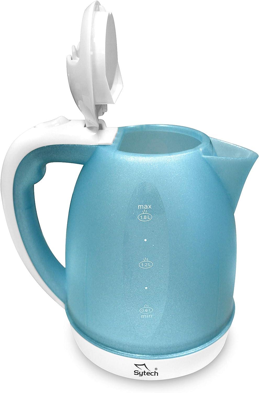 1,8L en Color Azul Blue Sytech SYHV27 Hervidor de Agua