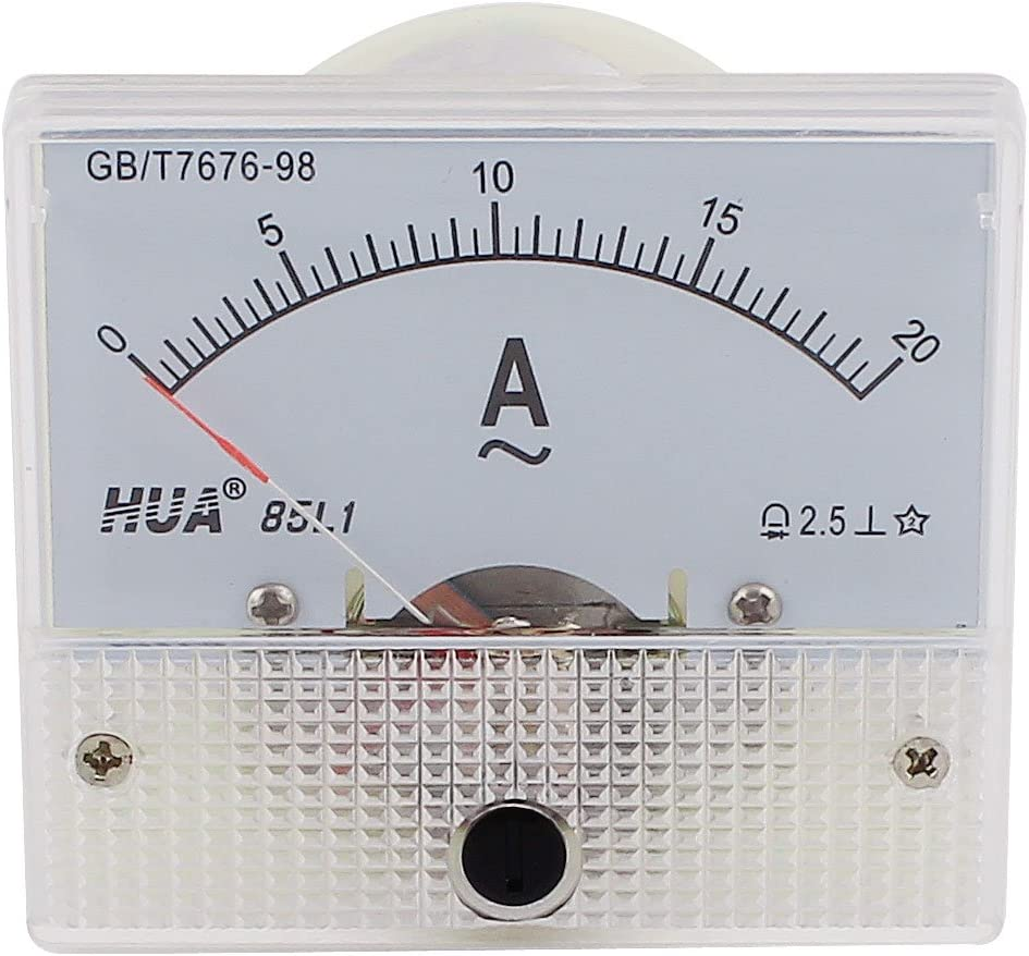 DH-670 AC 0-10A Aexit Medidor de panel anal/ógico rectangular Amper/ímetro Amper/ímetro model: Y3679IIIVII-8760ZD
