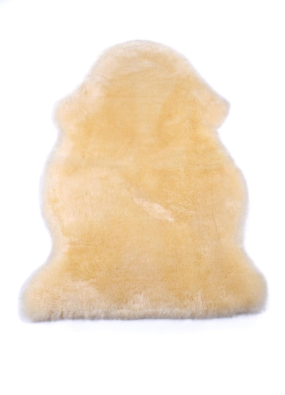 Naturasan Baby-Lammfell, geschorenes Babyfell, medizinisch gegerbtes weiches Schaffell zum kuscheln, med, 100-110 cm