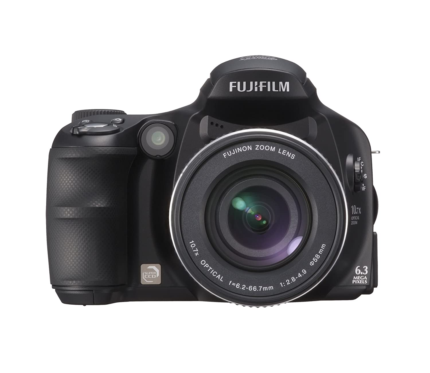 Amazon.com : Fujifilm Finepix S6000fd 6.3MP Digital Camera with 10.7x  Wide-Angle Optical Zoom with Picture Stabilization : Point And Shoot  Digital Cameras ...