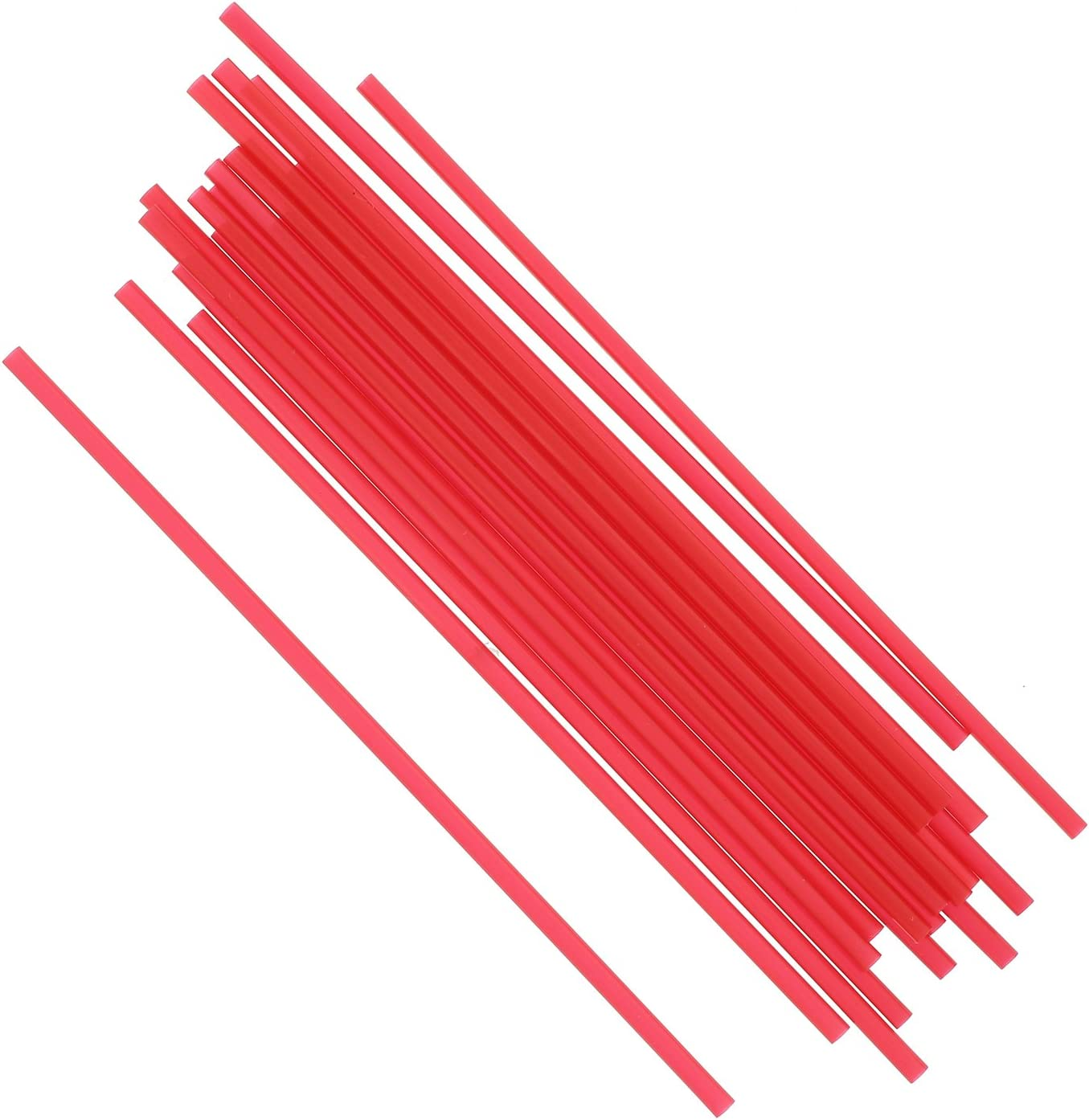 Package of 1000 Royal 5 Red Sip Straw