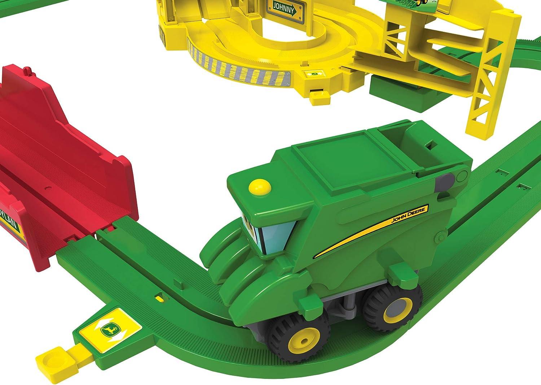 John Deere Big Loader Motorized Toy Train Set With Tractor ...