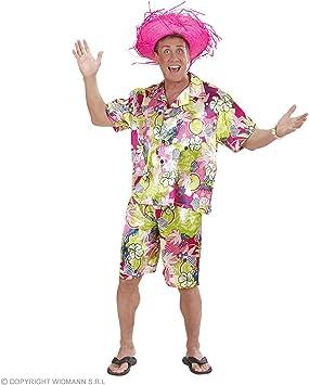 WIDMANN Disfraz de Hombre Hawaiano Adulto Carnaval: Amazon.es ...
