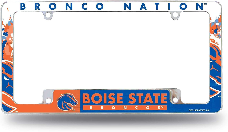 Rico Industries Boise State All Over Chrome Frame (Bottom)