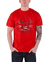 Officially Licensed Merchandise Marvel Comics The Red Skull T-Shirt (Red)