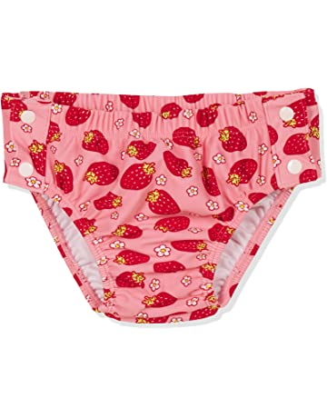 41096c6ac Playshoes UV-Schutz Windelhose Erdbeeren Zum Knöpfen pañal de natación para  Bebés