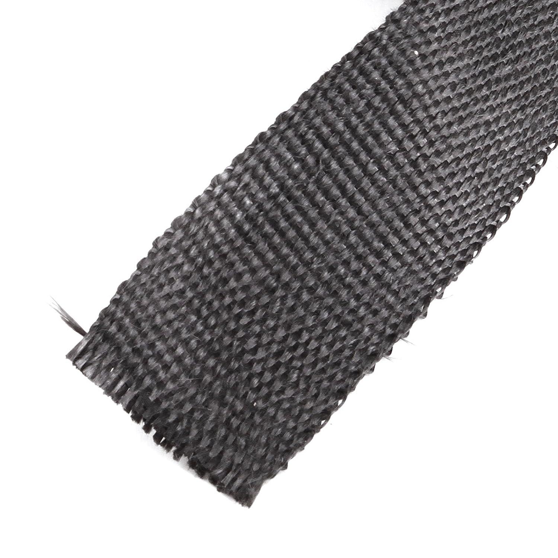 SurePromise One Stop Solution for Sourcing Titan Hitzeschutzband Hitzeschutz Heat Wrap Kr/ümmer Auspuffband 15mx50mm mit 10X Metallstreifen Motorrad Auto