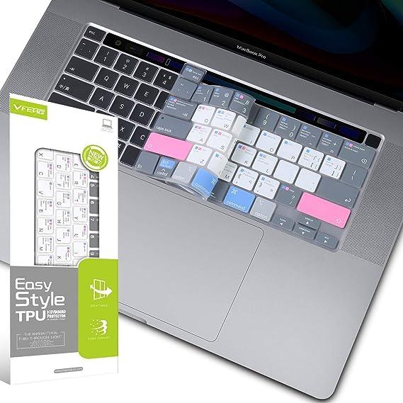 Hotkey Raccourcis Fonction Silicone Clavier Cover Protecteur de Clavier Skin Pour Mac Air Pro Retina 13 15 17EU//US