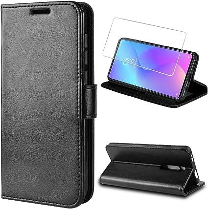 Custodia Flip Cover Libro Xiaomi Mi 9T con Chiusura Magnetica Pellicola Vetro