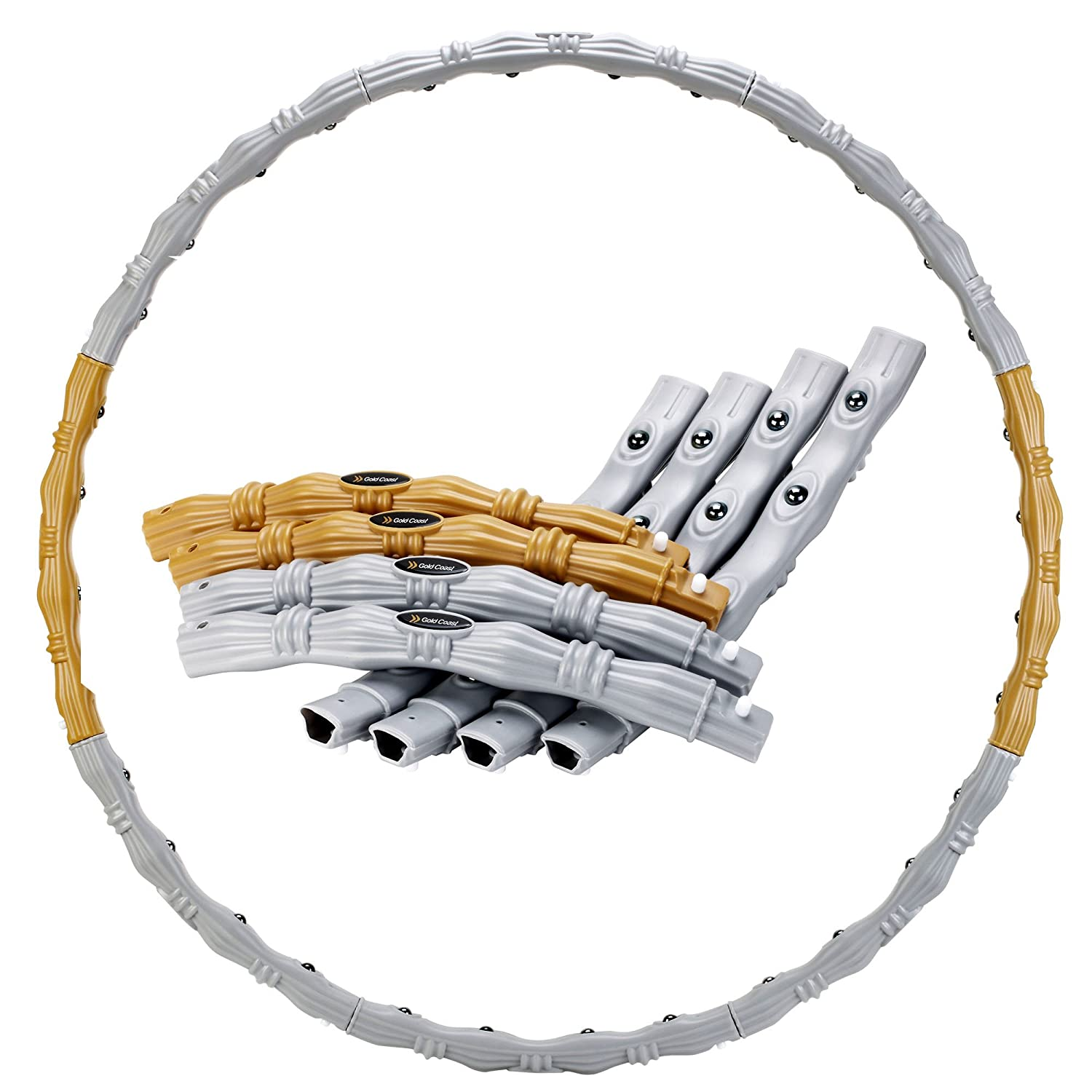 Gold Coast Fitness Hula Hoop or Hoop with Foam Padding Each Sold Separately 20/003