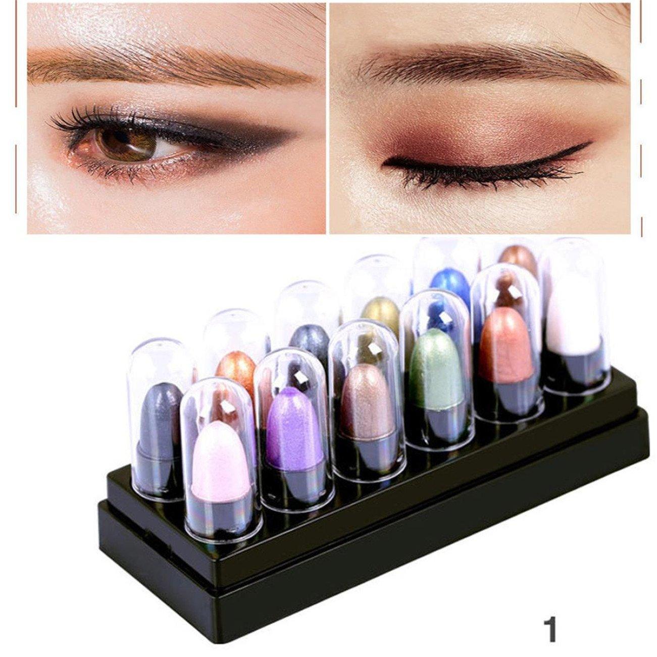 12 Colors Renaissance Eye Shadow Makeup Cosmetic Shimmer Matte Eyeshadow Palette (A)
