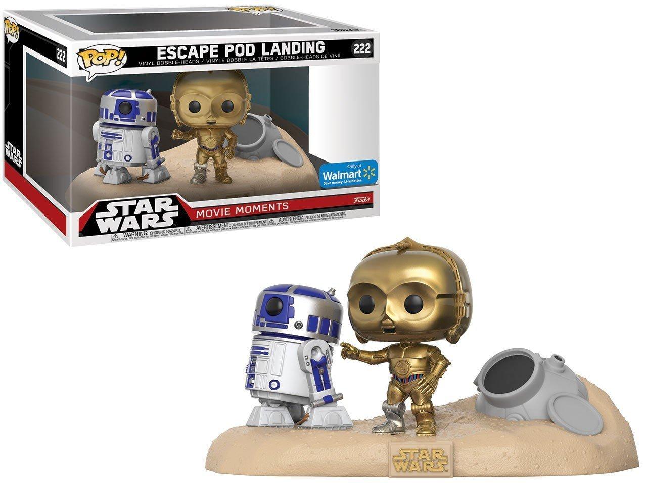 Figura Pop! Star Wars R2-D2 & C-3PO Desert Exclusive: Amazon.es: Juguetes y juegos