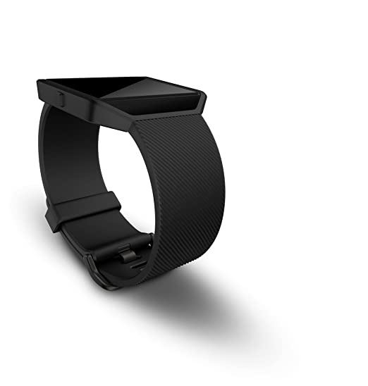 Fitbit Blaze Smart Fitness Watch Small, Black and Gun Metal