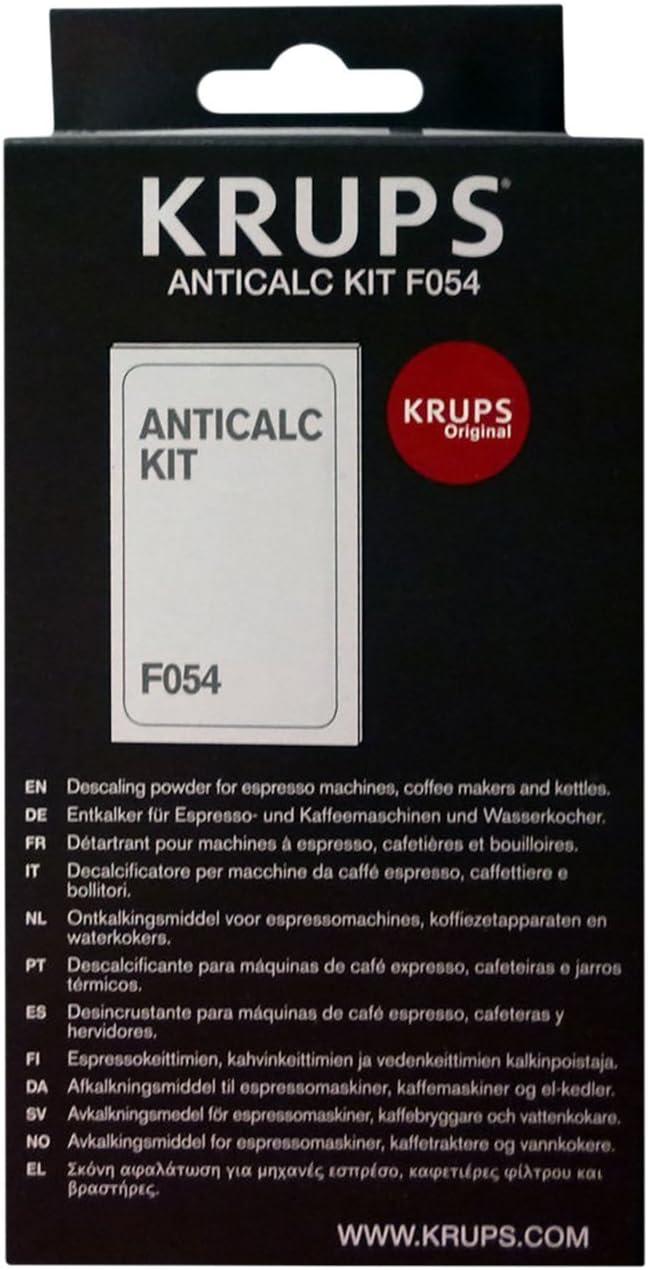 Krups F054 - Kit descalcificador para cafeteras (3 unidades ...