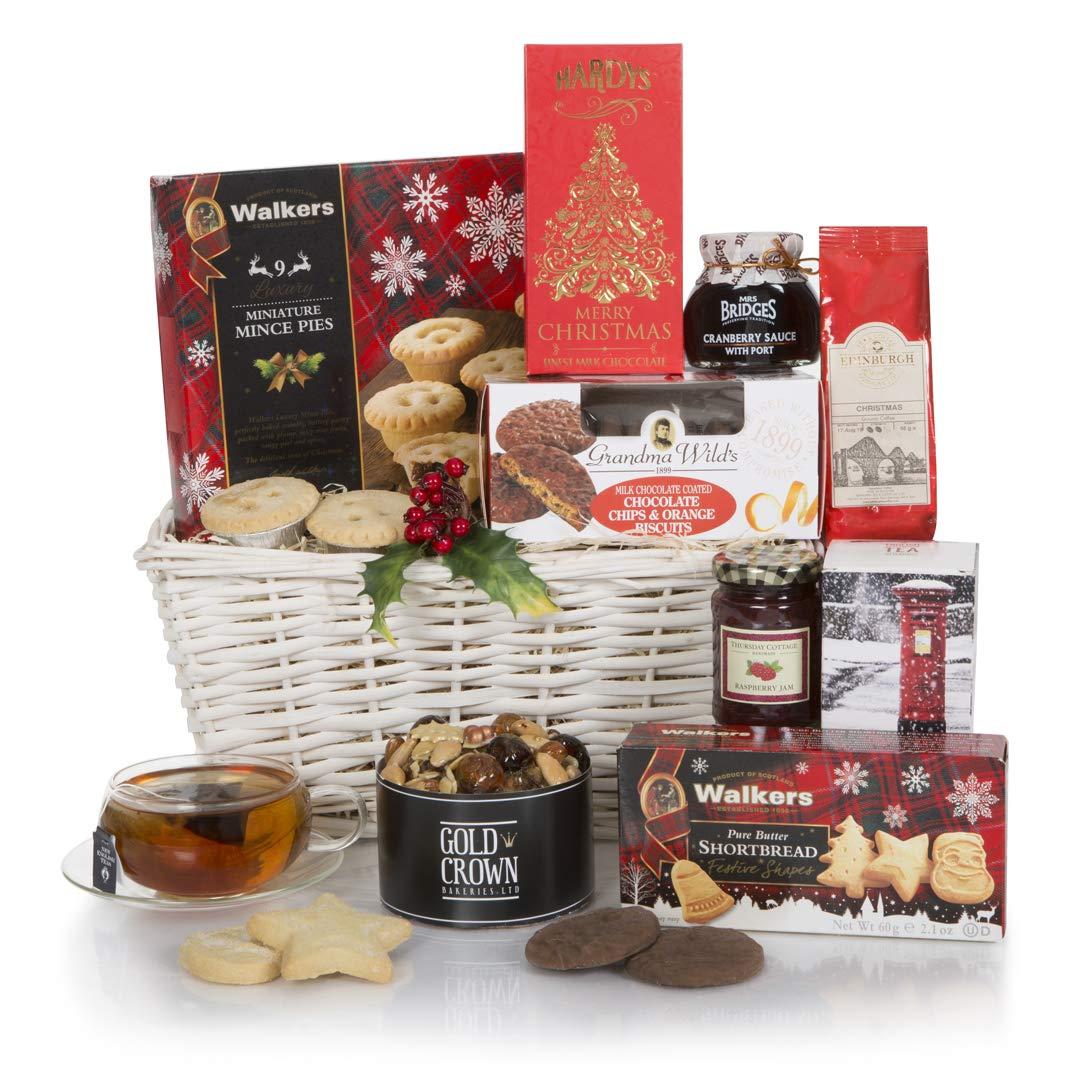 Christmas Hampers.White Christmas Hamper Xmas Hampers Festive Food Hamper Baskets Gift Baskets For Christmas