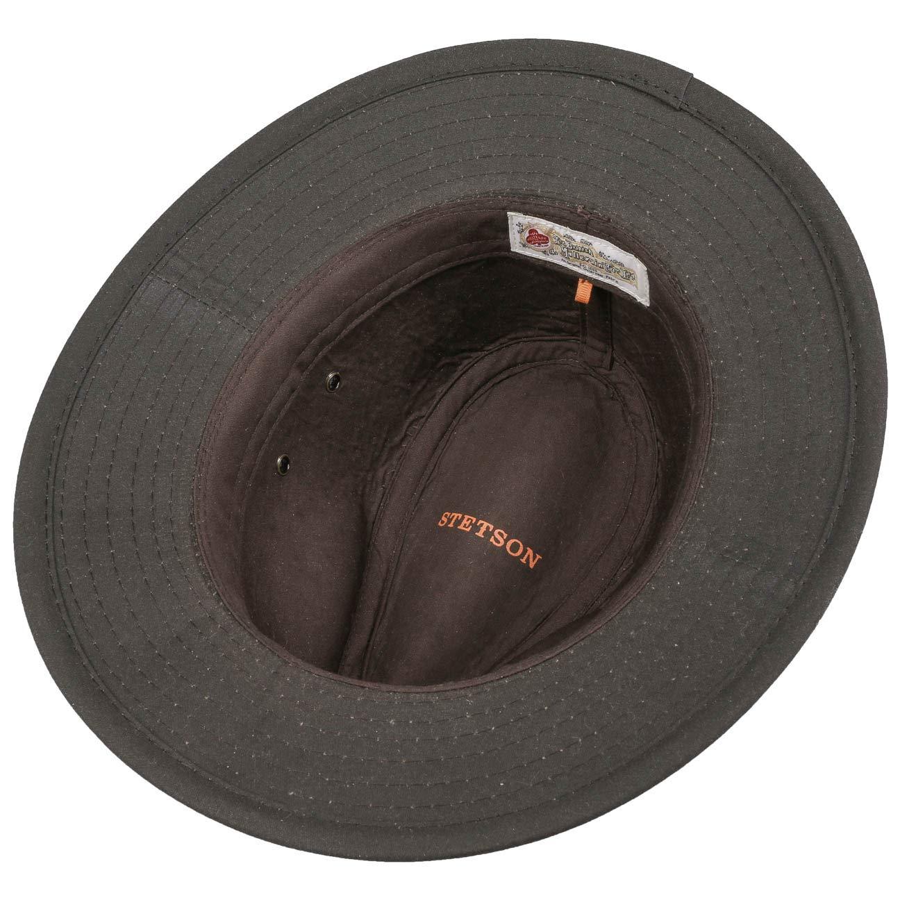 e161b8bf758 Stetson Avasun Waxed Cotton Traveller outdoor hat cloth  Amazon.co.uk   Clothing