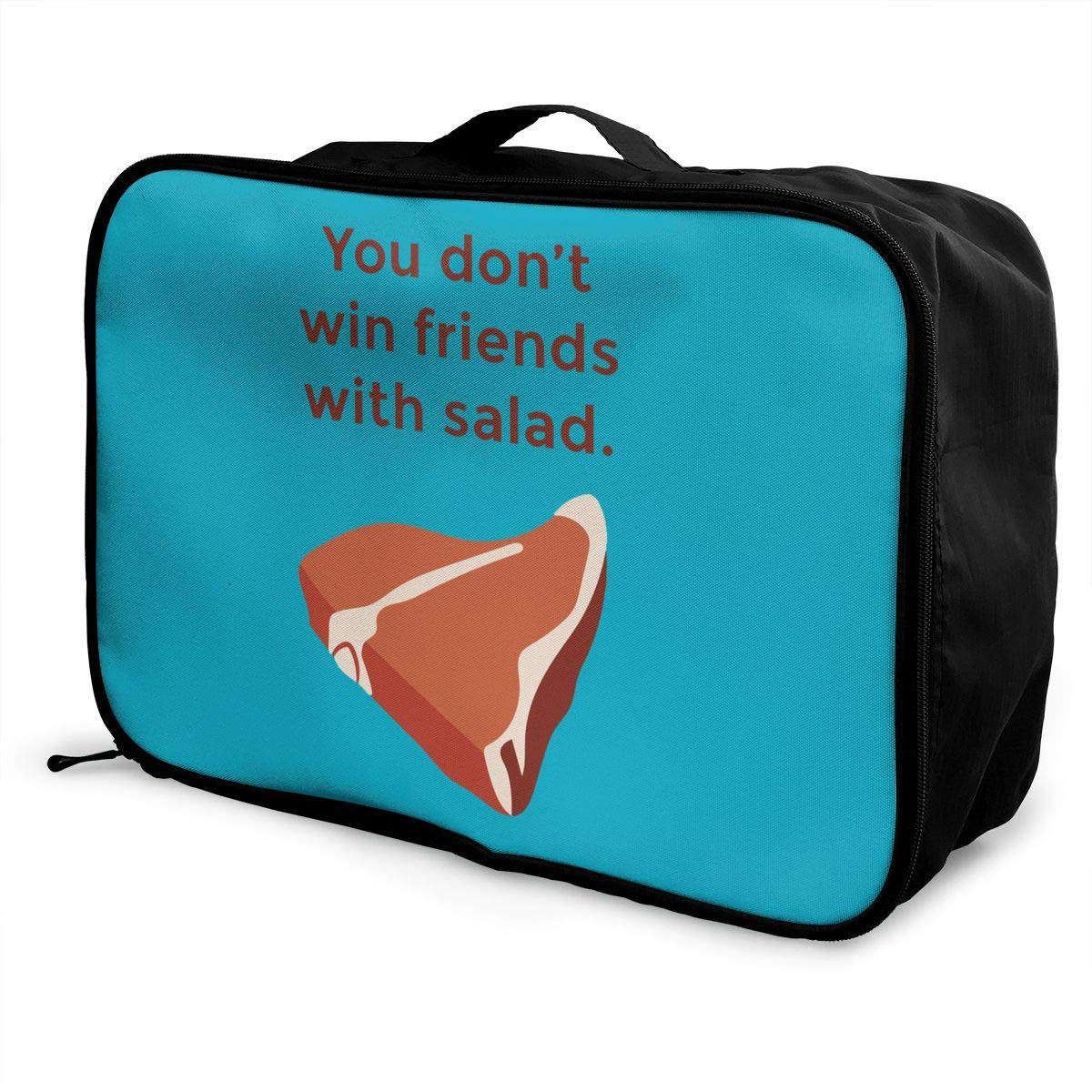 Travel Luggage Duffle Bag Lightweight Portable Handbag Salad Large Capacity Waterproof Foldable Storage Tote
