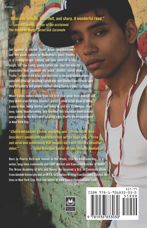 Amazon Com Chulito A Novel 9781936833030 Rice Gonzalez Charles Books