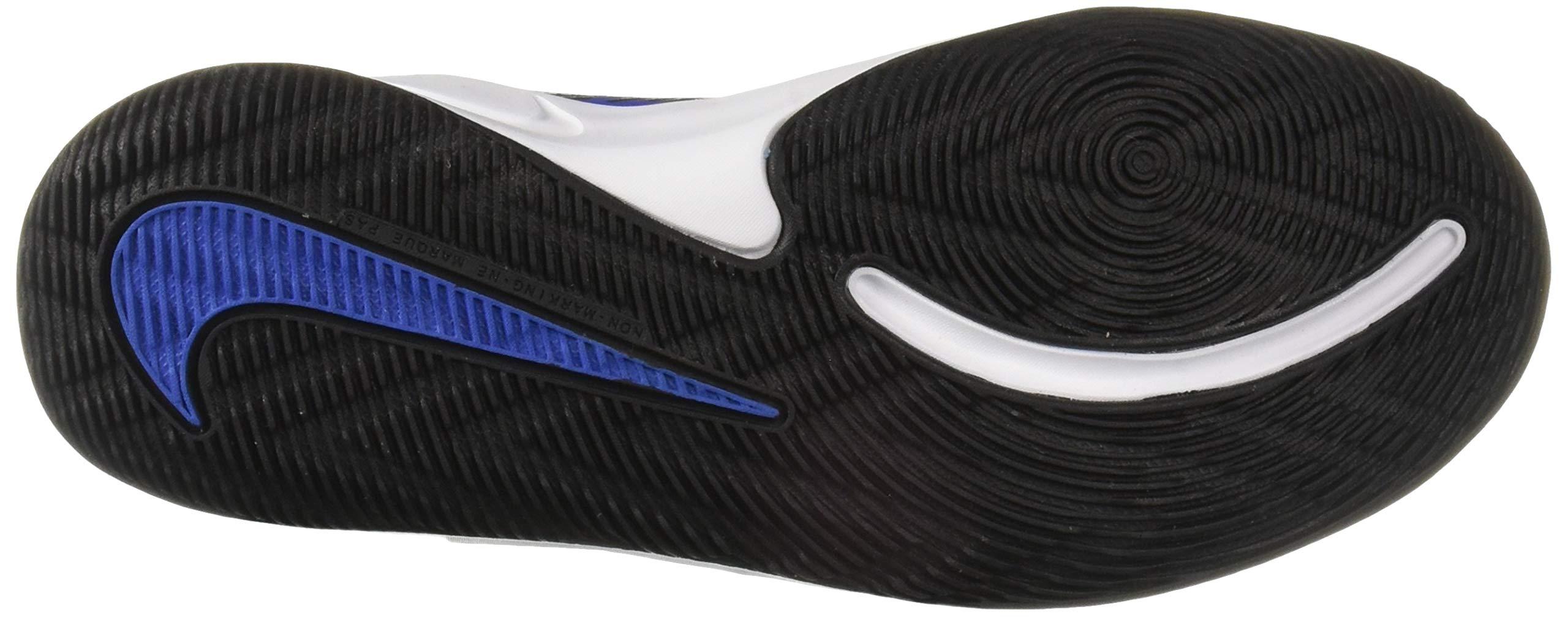 Nike Unisex Team Hustle D 9 (GS) Sneaker, Game Royal/Black - White, 5Y Regular US Big Kid by Nike (Image #3)