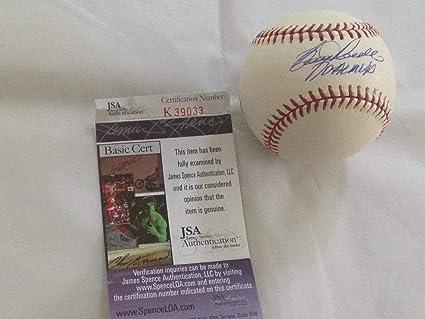 1f3ba3ba78b Image Unavailable. Image not available for. Color  Boog Powell Signed Ball  - Mvp Holo Coa 1a - JSA Certified - Autographed Baseballs