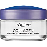 Collagen Face Moisturizer by L'Oreal Paris Skin Care Day and Night Cream Anti Aging Face Cream to Smooth Wrinkles I Non…