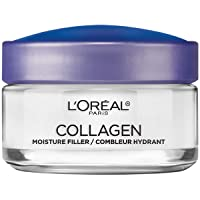 Collagen Face Moisturizer by L'Oreal Paris Skin Care Day and Night Cream Anti Aging Face Cream to Smooth Wrinkles I Non-Greasy I 1.7 oz.