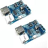 HiLetgo® 2個セット TFカード Uディスク Mp3デコーダ モジュール デコーダボード 無損失デコード 増幅器 [並行輸入品]