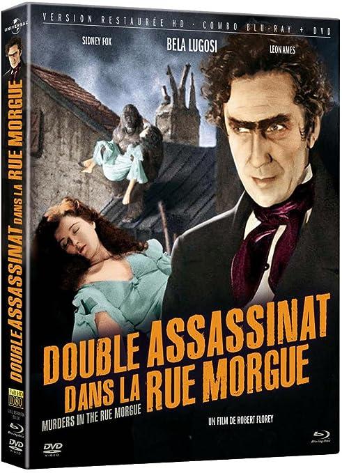 Double Assassinat Dans La Rue Morgue Combo Blu Ray Dvd Amazon Fr