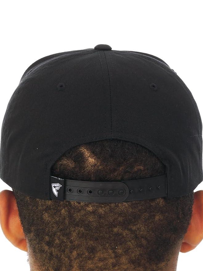 Amazon.com: Famous Stars and Straps Mens Raised On Rap Snapback Adjustable Hat One Size Black: Clothing