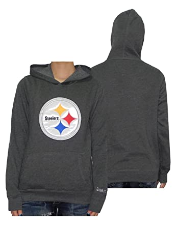 innovative design 7326a bf430 Amazon.com: Womens NFL Pittsburgh Steelers Athletic Pullover ...