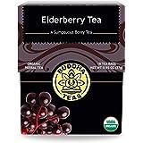 Organic Elderberry Tea - Kosher, Caffeine-Free, GMO-Free - 18 Bleach-Tea Bags