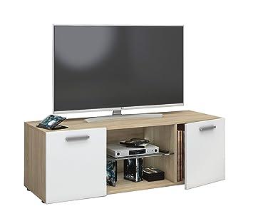 Vcm Tv Lowboard Fernseh Schrank Mobel Tisch Holz Sideboard Medien