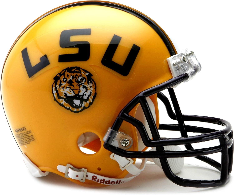 Riddell Speed Mini NCAA college football Helmet LSU TIGERS