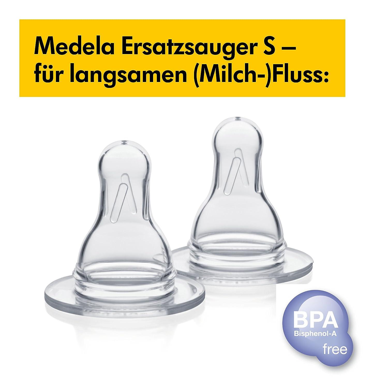 T/étines sans BPA D/ébit Faible S Medela