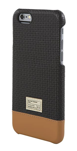 quality design 1849f cad9a HEX Focus Leather Case for iPhone 6 (Black Woven)