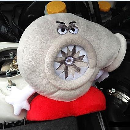 Turbo Travel Headrest Pillow, JackSuper Cool Memory Foam Car Turbo Decor Plush Neck Rest Travel